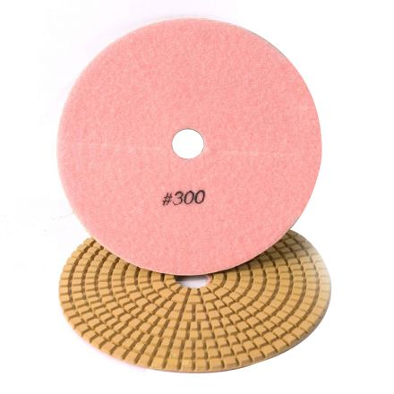Specialty Diamond 7300WPAD 7 Inch 300 Grit Wet Diamond Polishing Pad (7300WETPAD)