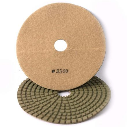 Specialty Diamond 73500WPAD 7 Inch 3500 Grit Wet Diamond Polishing Pad (73500WETPAD)