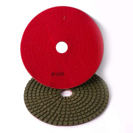 Specialty Diamond 7600WPAD 7 Inch 600 Grit Wet Diamond Polishing Pad (7600WETPAD)