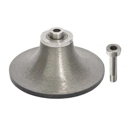 "Specialty Diamond B40BIT Stone Router 1-1/2"" Radius Router Bullnose Bit For Shaping Granite"