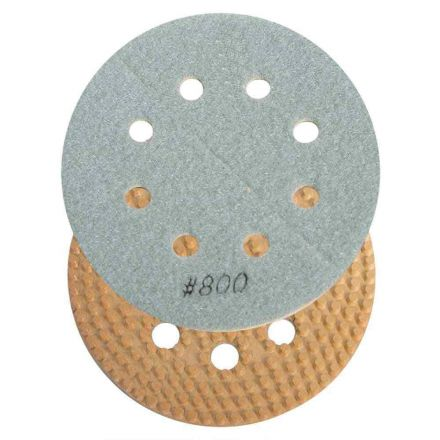 Specialty Diamond BRTD6800 6 Inch 800 Grit Thin Dry Pad for Orbital Sanders