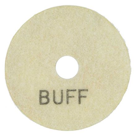 Specialty Diamond E3WBUFF 3 Inch White Buffing Polishing Pad