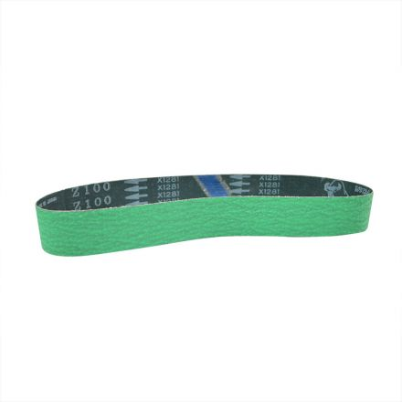 Specialty Diamond HPGZ100 1-1/2 Inch x 30 Inch Zirconia Sanding Belt, 100 Grit Premium Japanese Material - GREEN (HPG-331-62)