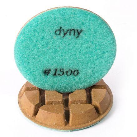 Specialty Diamond 31500FPAD Resin Dry/Wet Floor Polishing Diamond Pad, 3 Inch 9mm Thick, 1500 Grit