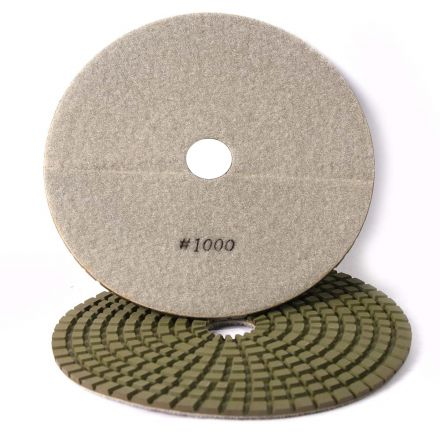 Specialty Diamond 71000WPAD 7 Inch 1000 Grit Wet Diamond Polishing Pad (71000WETPAD)
