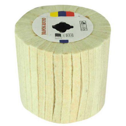 Specialty Diamond AW-FF Fleece Flap Wheel for Mirror Polishing - Fits Hardin HD-5800 Burnisher / Polisher