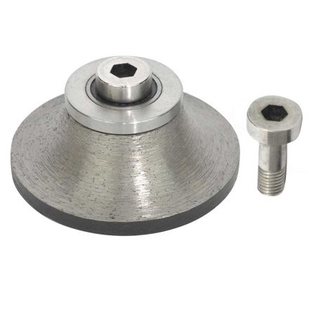 Specialty Diamond B20BIT 3/4 Inch Stone Router Demi Bullnose Bit For Shaping Grinding Granite Tools