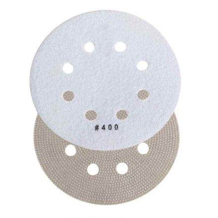 Specialty Diamond BRTD6400 6 Inch 400 Grit Thin Electroplated Dry Pad for Orbital Sanders
