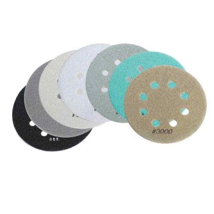 Specialty Diamond BRTD6SET 7 Pcs 6 Inch Thin Electroplated Dry Pad Set