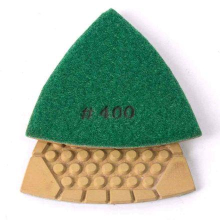 Specialty Diamond BRTTD400 400 Grit Diamond Triangular Dry Pad