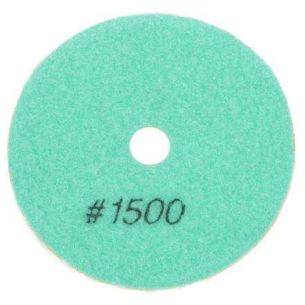 "Specialty Diamond BRTW41500 4"" Diamond Wet Polishing Pad, 3mm Thick 1500 Grit"