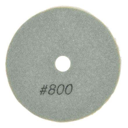 "Specialty Diamond BRTW4800 4"" Diamond Wet Polishing Pad, 3mm Thick 800 Grit"