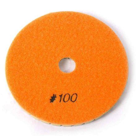 "Specialty Diamond BRTW5100 Premium Wet Polishing Pad, 5"" 100 Grit - 6mm"
