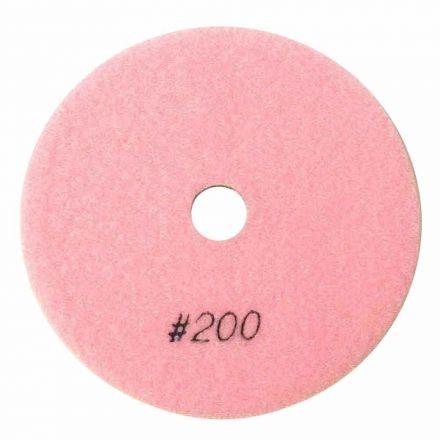 "Specialty Diamond BRTW5200 Premium Wet Polishing Pad, 5"" 200 Grit - 6mm"