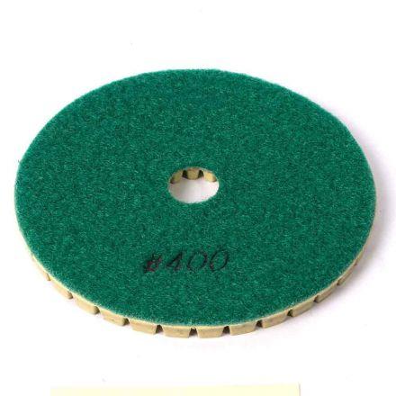 "Specialty Diamond BRTW5400 Premium Wet Polishing Pad, 5"" 400 Grit - 6mm"