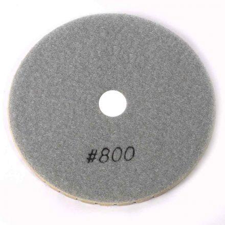 "Specialty Diamond BRTW5800 Premium Wet Polishing Pad, 5"" 800 Grit - 6mm"