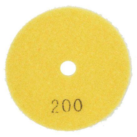 Specialty Diamond E3200 3 Inch 200 Grit Resin Diamond Polishing Pad