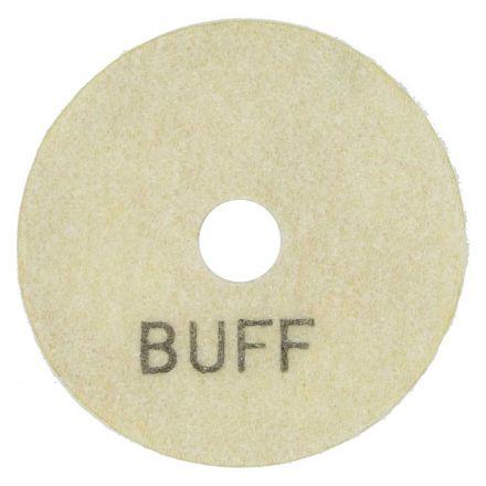 Specialty Diamond E3WBUFF 3 Inch White Buffing Polishing Pad