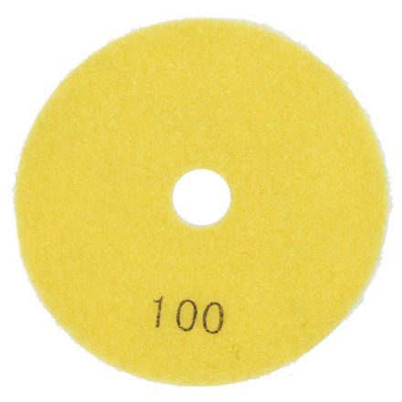 Specialty Diamond E4100 4 Inch 100 Grit Resin Diamond Polishing Pad