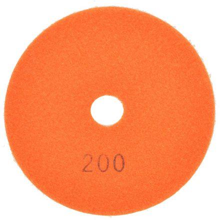 Specialty Diamond E4200 4 Inch 200 Grit Resin Diamond Polishing Pad