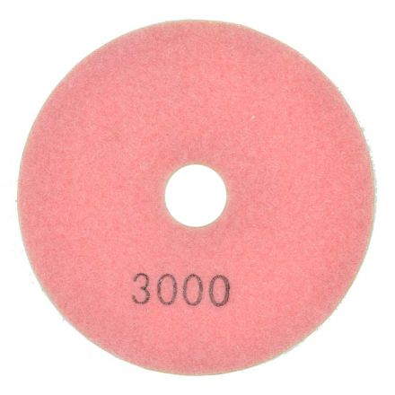 Specialty Diamond E43000 4 Inch 3000 Grit Resin Diamond Polishing Pad