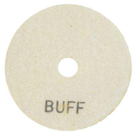Specialty Diamond E4WBUFF 4 Inch White Buffing Polishing Pad