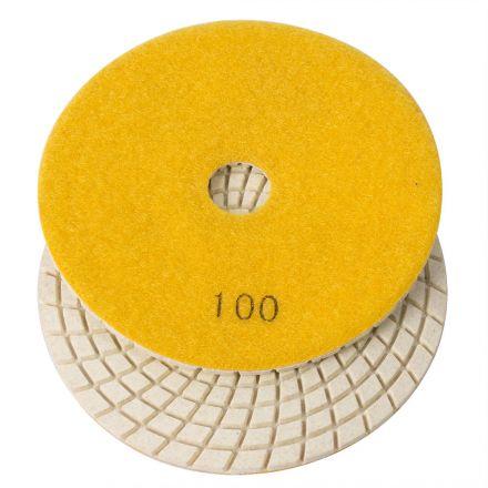 Specialty Diamond E5100 5 Inch 100 Grit 3mm Resin Diamond Polishing Pad