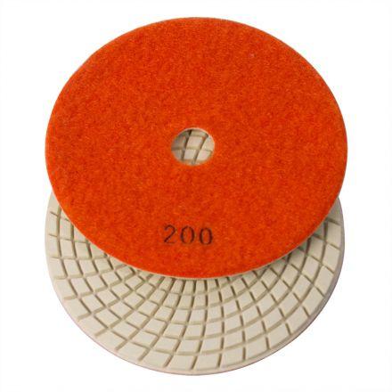 Specialty Diamond E5200 5 Inch 200 Grit 3mm Resin Diamond Polishing Pad
