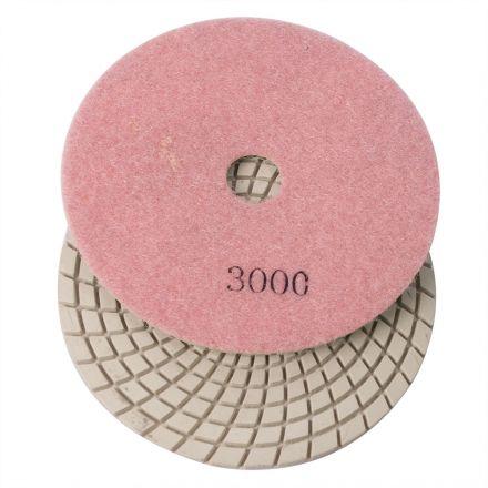 Specialty Diamond E53000 5 Inch 3000 Grit 3mm Resin Diamond Polishing Pad