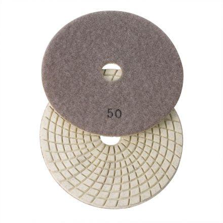 Specialty Diamond E550 5 Inch 50 Grit 3mm Resin Diamond Polishing Pad