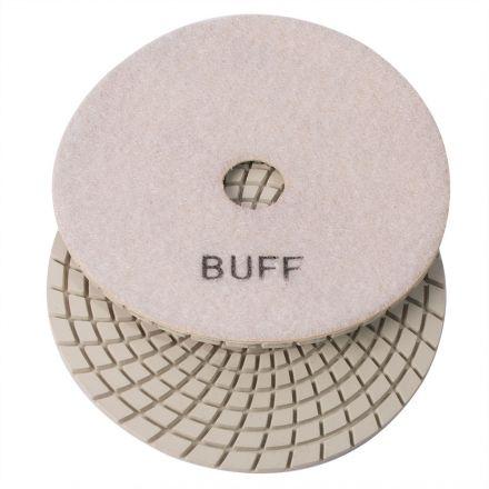 Specialty Diamond E5WBUFF 5 Inch White Buffing Polishing Pad