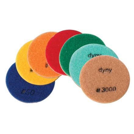 Specialty Diamond FPAD-K1 3 Inch Resin Wet/Dry 9 mm Floor Polishing Diamond Pads